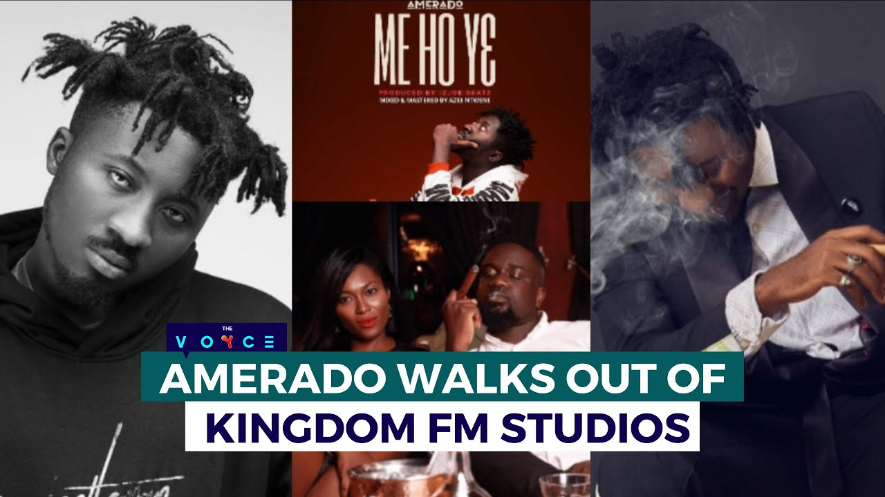VIDEO: Amerado angrily walks out of interview on Kingdom FM
