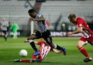 Baba Rahman stars as PAOK Salonika beat Olympiacos