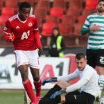 Ghanaian Bismark Charles Kwarema scores for CSKA Sofia despite defeat