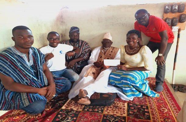 Buipewura Abdulai Jinapor donates to Wipe-Away Foundation