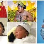 PHOTOS: Nigerian actress Chacha Eke gives birth to fourth child at 27 years