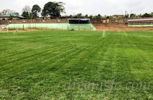 VIDEO: Torrential rains in Dawu forces referee to call off Dreams vs Karela match