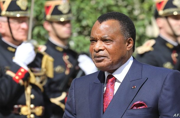 Congo's Dennis Sassou-Nguesso sworn in for fifth term