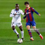 Ghanaian defender Amankwaa Akurugu Koffi makes Getafe debut against Barcelona