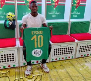Joseph Esso handed iconic number 10 jersey at new club MC Algiers