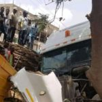 Just In: Another truck involved in an accident at Takoradi