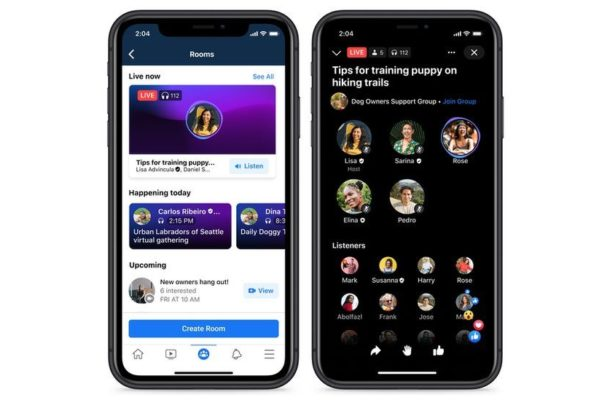 Facebook announces its version of Clubhouse