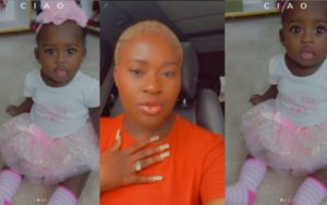 VIDEO: Fella Makafui shares moments her baby picks language lessons from her