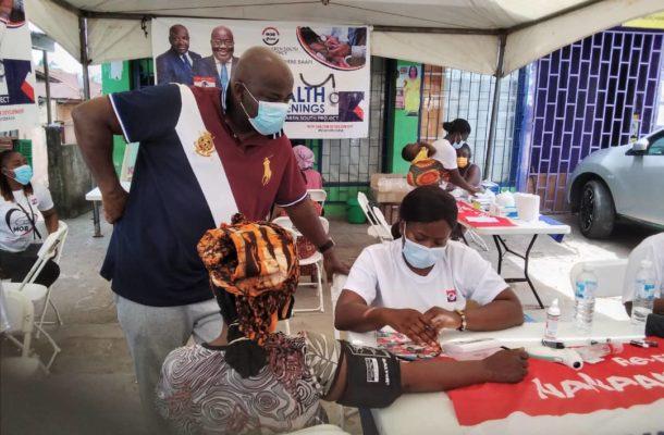 New Juaben South: Michael Okyere Baafi organizes health screening for constituents