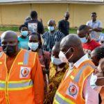 Eastern Regional Minister, Seth Acheampong visits Akyem Oda rainstorm victims
