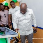 Michael Okyere Baafi donates computers to Riis Presby Model Schools in Koforidua
