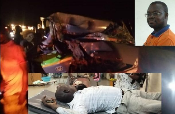 Human Rights Reporters Ghana CEO survives near fatal road accident