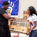 PHOTOS: Leadership of NPP Loyal Ladies donates to members