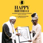 See What The Maestro Kojo Antwi Gifted Chief Imam On His 102nd Birthday
