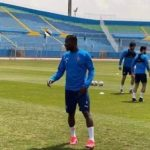 John Antwi trains with Pyramids ahead of Confederations Cup tie against Raja
