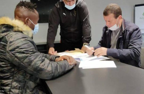 OFFICIAL: Joseph Esso completes MC Algiers move