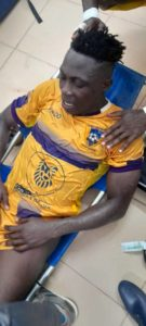 Medeama's Justice Blay taken to Hospital after fatal injury