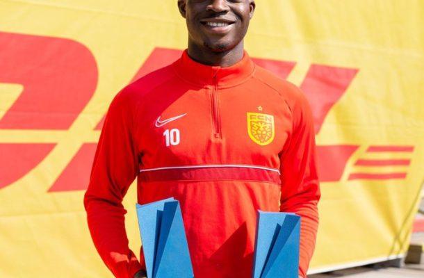 Kamaldeen Sulemana scoops two awards in Danish league