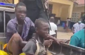 Kasoa: How two teenagers allegedly killed, buried friend for money rituals [Photos]