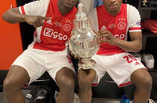 Kudus Mohammed, Brian Brobbey win Dutch Cup with Ajax