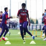 Ghanaian teen Kwaku Oduro trains with Man City first team ahead of Champions League tie