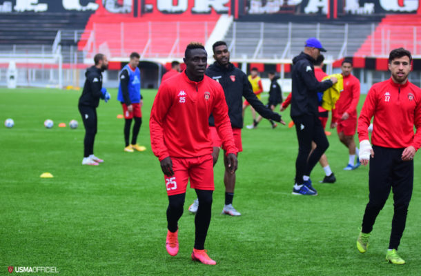 Kwame Opoku scores for USM Alger in training match