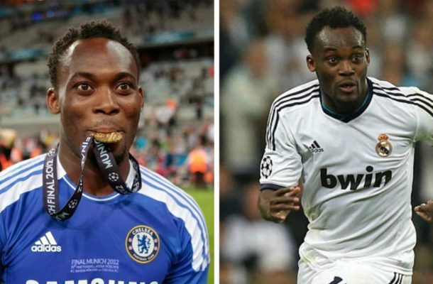 UCL: Michael Essien wishes former sides Chelsea, Real Madrid good luck ahead of semi final clash