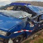 E/R: Five crushed to death after crash on Accra-Kumasi highway