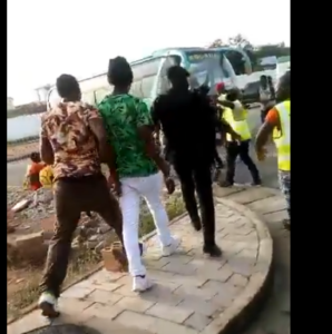 VIDEO: Irate Dwarfs fans pin loss against Sharks on their bet staking goalkeeper