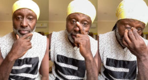 VIDEO: Reggie Rockstone weeps over Akuapem Poloo's sentence