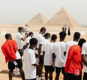 VIDEO: Right to Dream U-18 visit the Pyramids of Egypt