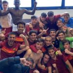 AS Roma youngster Felix Gyan scores for U-18 side