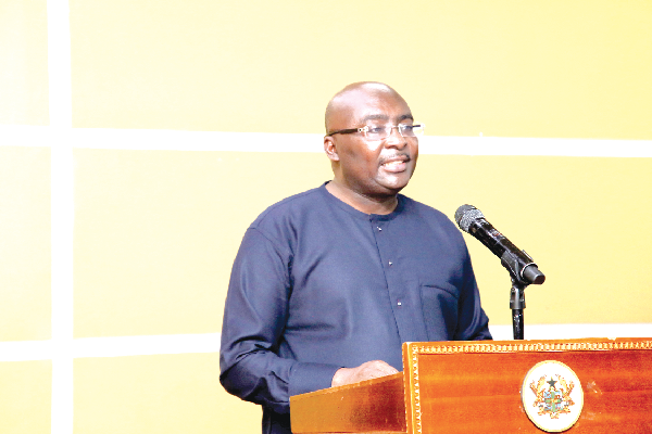Vice-President Bawumia launches platform to check MoMo fraud