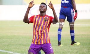 VIDEO: Victor Aidoo's penalty gives Hearts the lead against Aduana Stars