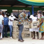 Kojo Oppong Nkrumah supports 400 constituents