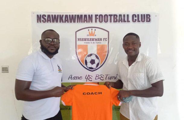 Former Kotoko striker Eric Bekoe lands first coaching job