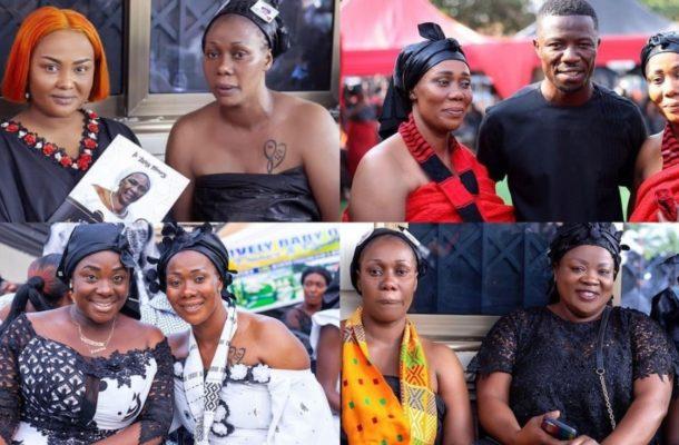 PHOTOS: Kwaku Manu, Mercy Asiedu, others mourn with their college Kumawood actress