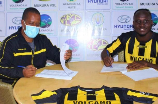 OFFICIAL: William Opoku Mensah joins Rwanda side Mukura Victory