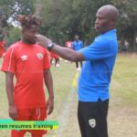 Hearts midfielder Abdul Aziz Nurudeen returns to training