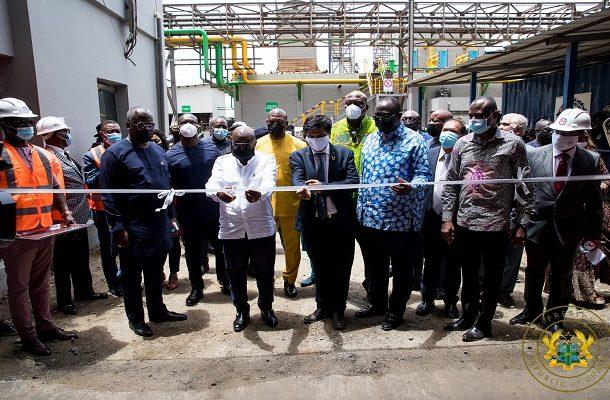 Akufo-Addo commissions $80m B5 Plus steel factory