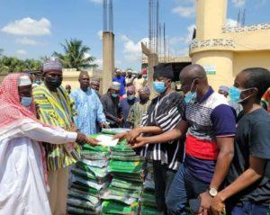 Ramadan: Amasaman MP, Afrifa-Mensah donates to Muslim comminities