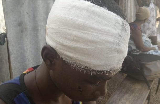 C/R: SHS students clash with town folks over a girl at Enyan Denkyira