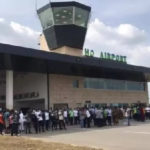 Ho Airport opened to business