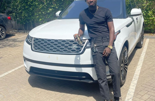 PHOTOS: Kuami Eugene surprised with new Range Rover