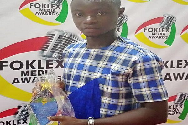 Foklex Media Awards: Agyenkwa FM's Obofuor Michael crowned Ashanti Regional Reporter of the Year