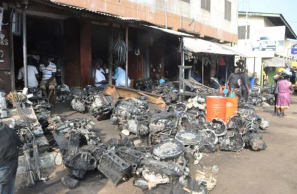 Government proposes spare parts village to address congestion at Abossey Okai, Kokompe