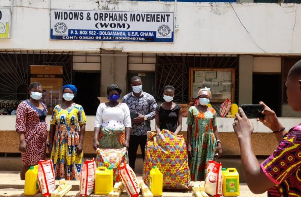 Journalist sacrifices salary for widows, orphans in Upper East Region