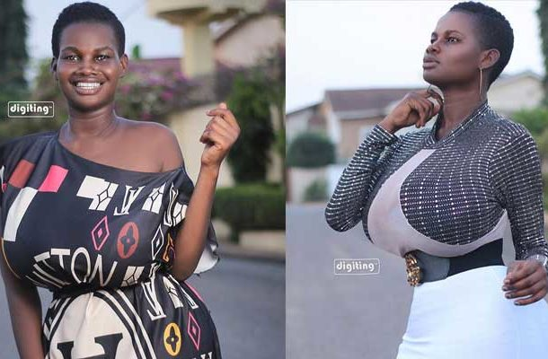 VIDEO: My huge boobs are God's gift – Pamela Odame