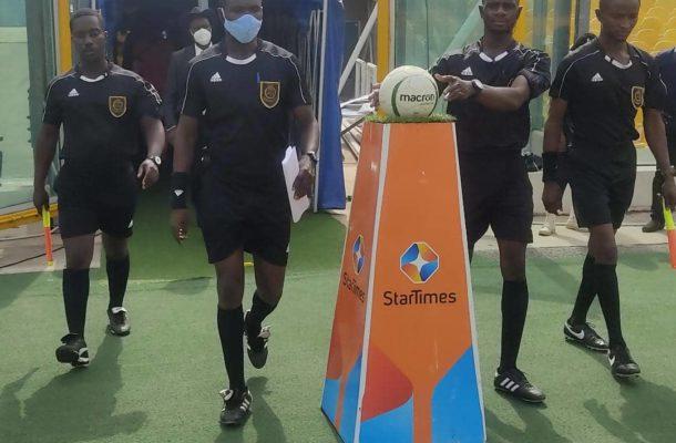 Match officials for GPL week 19 announced