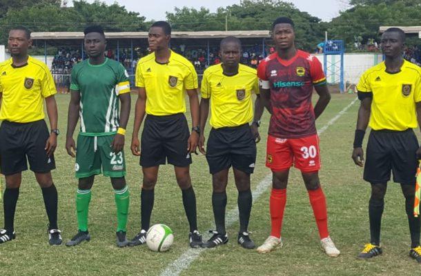 Match officials for Ghana Premier League match week 23
